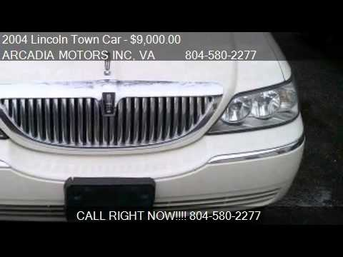 2004 Lincoln Town Car Ultimate L For Sale In Heathsville Va Youtube