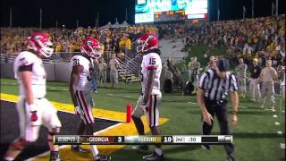 09/08/2012 Georgia vs Missouri Football Highlights