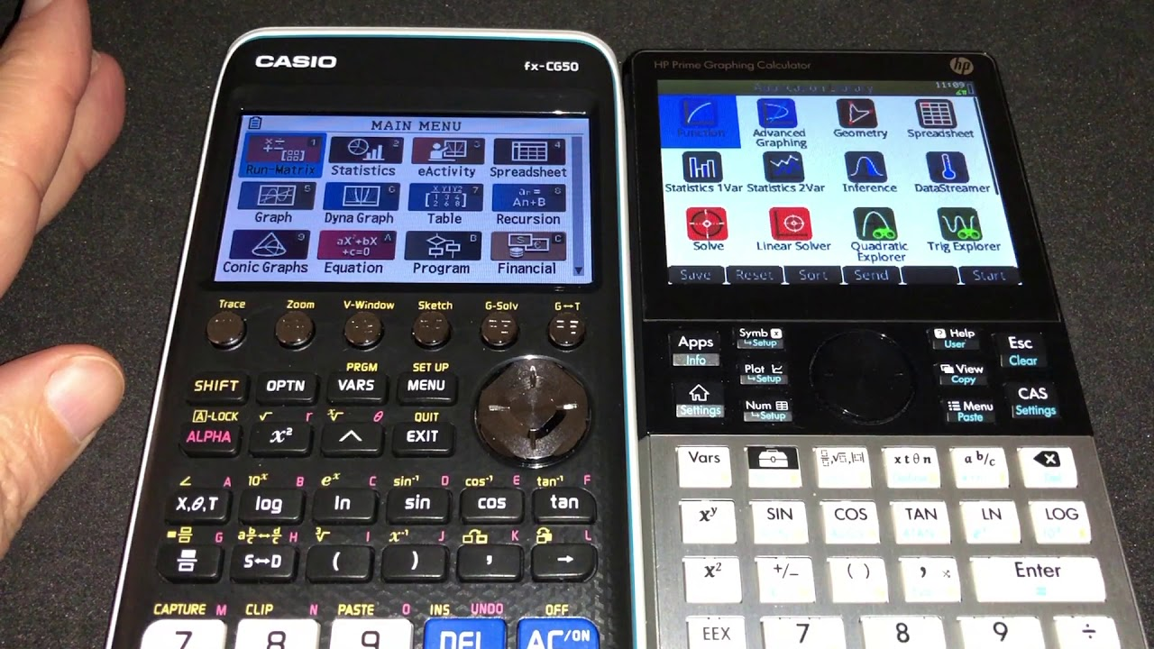Comparison Between Numworks, Casio, TI and HP Graphing Calculators - Speed  Test