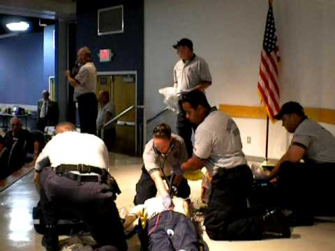 Palm Beach County Fire Rescue ''Real Time'' Demonstration of Emergency Response