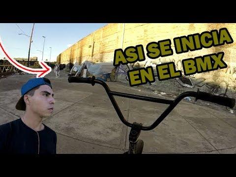 MIS INICIOS EN EL BMX