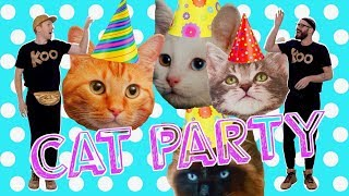 Koo Koo Kanga Roo - Cat Party (Dance-A-Long)