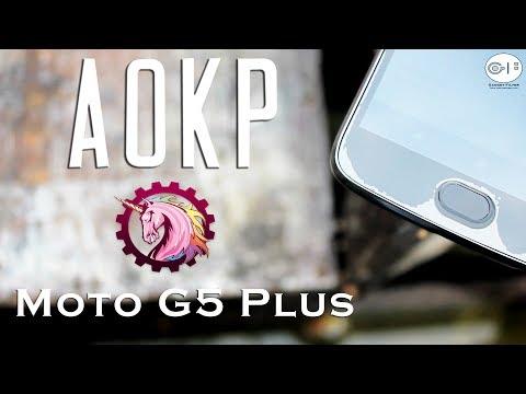 AOKP Custom Rom for Moto G5 Plus | Nougat 7.1.2 | Full Depth of Review!