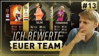 FIFA 18 Ich BEWERTE eure HYBRID TEAMS 😳🔥 NLW Special ✅ ft. ST Salah + IF Fernandinho - Folge 13