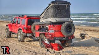 Beach Camping in Teאas - Padre Island