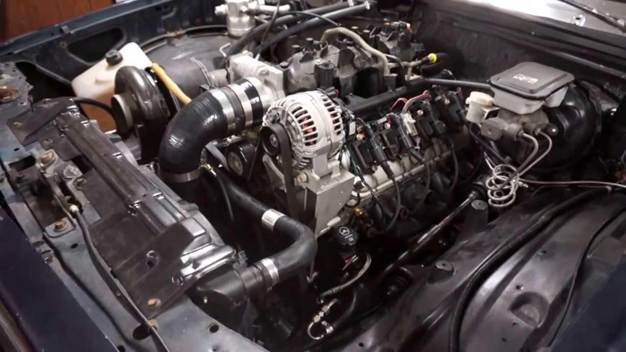 1986 El Camino Lq4 Turbo First Start Youtube