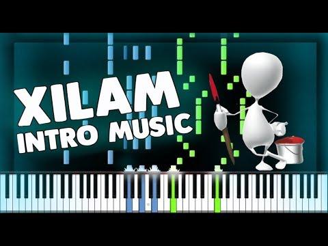 XILAM Animations - Cartoon Intro Music - PIANO TUTORIAL
