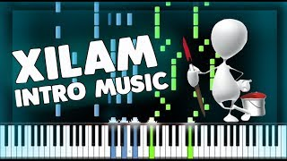 XILAM Animations - Cartoon Intro Music - PIANO TUTORIAL