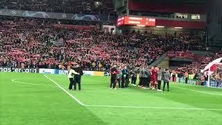 Liverpool vs Barcelona Champions League 2019 — Full Celebration! Anfield erupts!!!