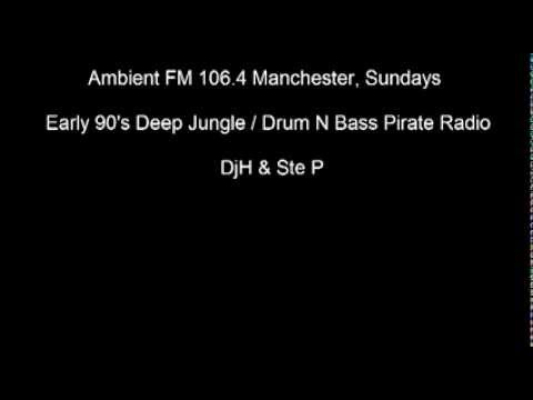 Ambient FM 106.4 Manchester Early 90's Deep Jungle / Drum N Bass Pirate Radio EP1