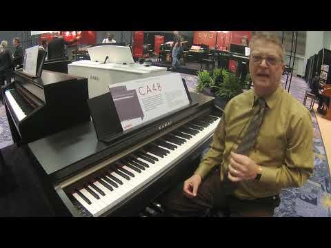 NAMM 2018Kawai CA48 Digital Piano with Sean O'Shea