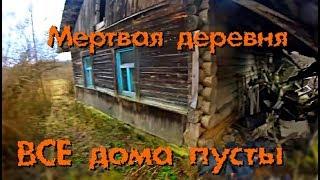 Мертвая деревня, заброшенные дома в лесу - Покинутый Мир