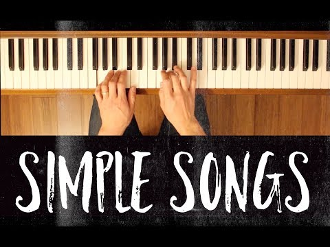 Whistle While You Work (Simple Songs) [Easy Piano Tutorial]