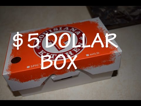 In The Kitchen With Brandon #03 Popeyes Chicken   $5 Dollar Box !!