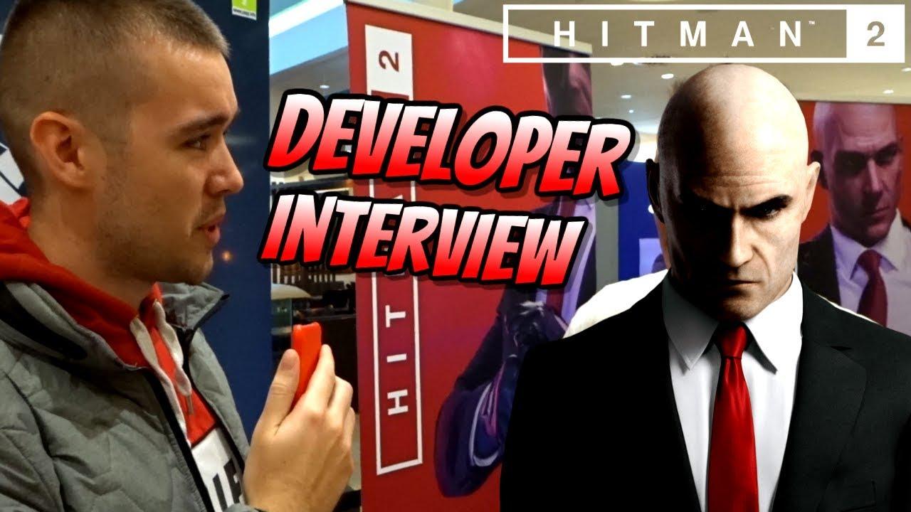 Hitman 2 Developer Interview Goodiebag Unboxing From Gamestop