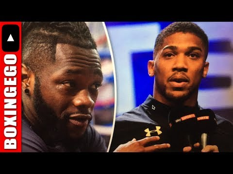 Live Chat: Anthony Joshua/Deontay Wilder/Dillian Whyte, Lemieux gets Saunders title shot