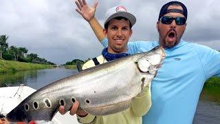 Fishing for Clown Knife Fish in Florida - ft. 1Rod1ReelFishing & Scott Martin