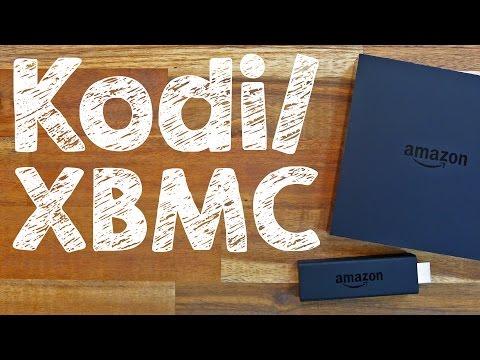XBMC / Kodi Installation FireTV + Fire TV Stick von Amazon gratis installieren, auf Deutsch