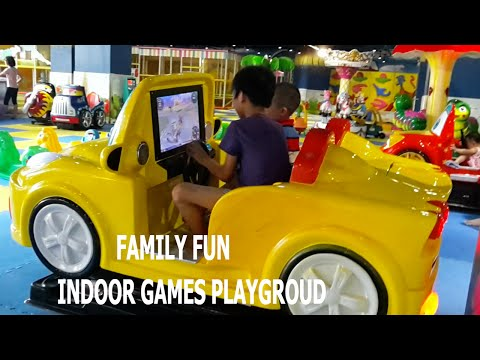 FAMILY FUN  Indoor Games Activities For Kids | Indoor Playground @ Royal City Hanoi by  HT BabyTV