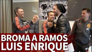 Las bromas de Luis Enrique a Sergio Ramos, Rodri y Ceballos | Diario As