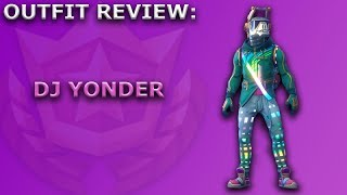 DJ Yonder Outfit Review + Skin Showcase! ~ (Season 6 Battle Pass Item) ~ Fortnite Battle Royale