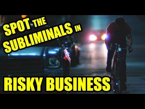 Spot the movie subliminals - RISKY BUSINESS (Joel's bike ride montage)