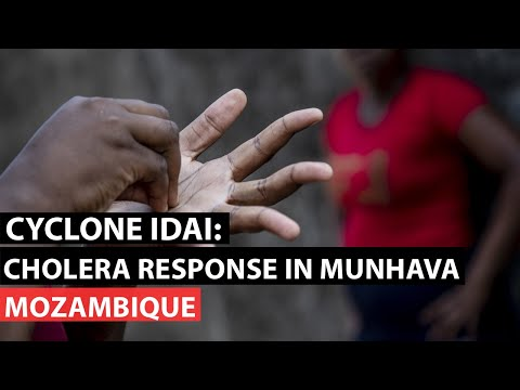 Cyclone Idai: Cholera response in Munhava Health Centre, Mozambique