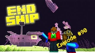 Minecraft Survival - HOW TO FIND AN END SHIP - Foxy's Survival World [90]