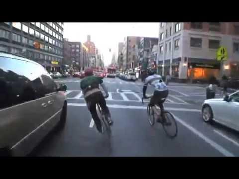 Bike Messengers - NYC assault