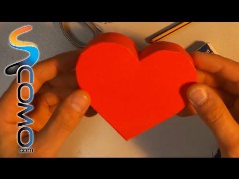 19bc7e4ec905 Regalo para San Valentín (Caja en forma de corazón) - YouTube