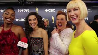 Chat w the cast of CBC Series Frankie Drake Mysteries on 2019 Canadian Screen Awards Nominations
