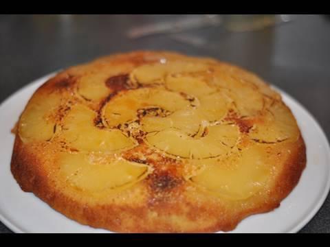 recette-du-gâteau-renversé-à-l'ananas-caramélisé-par-hervé-cuisine