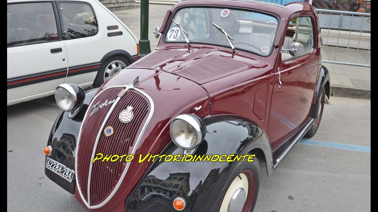 fiat topolino b - youtube