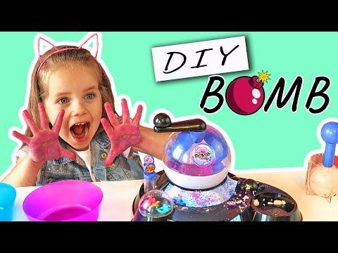 DIY Beauty BOMB 💣 Бомбочки с СЮРПРИЗОМ Своими руками POPSY TOYS