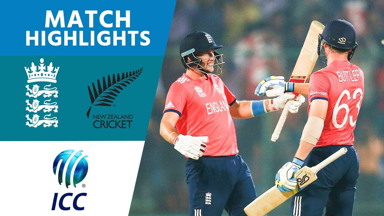 3 Buttler Sixes To Reach The Final! | England vs New Zealand | ICC Men's #WT20 2016 - Highlight