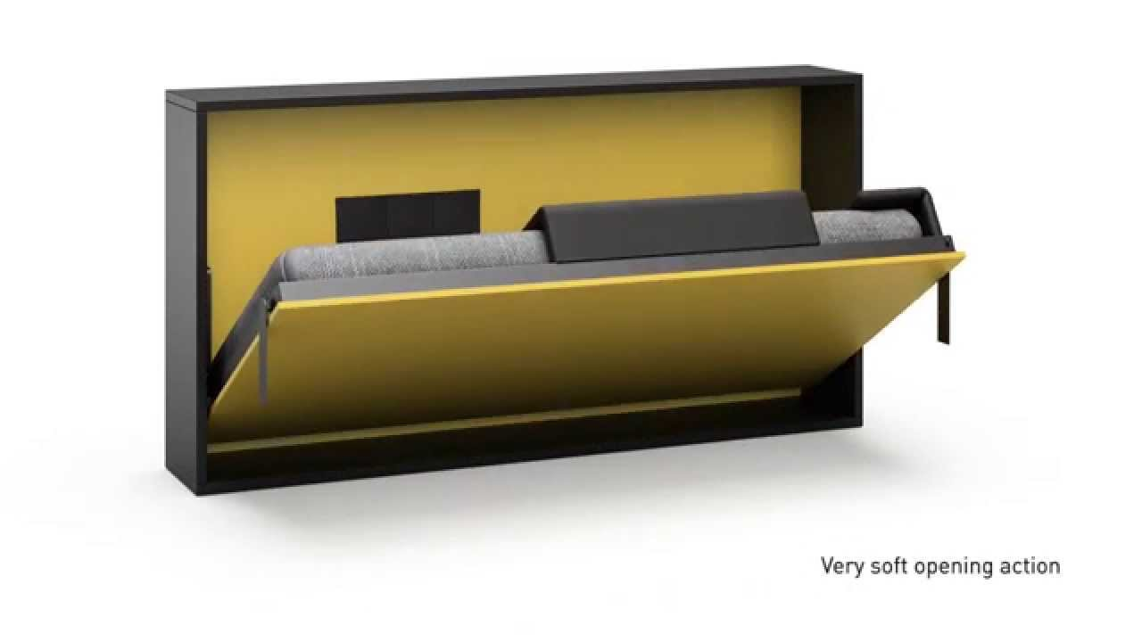 Fold out wall bed   YouTube