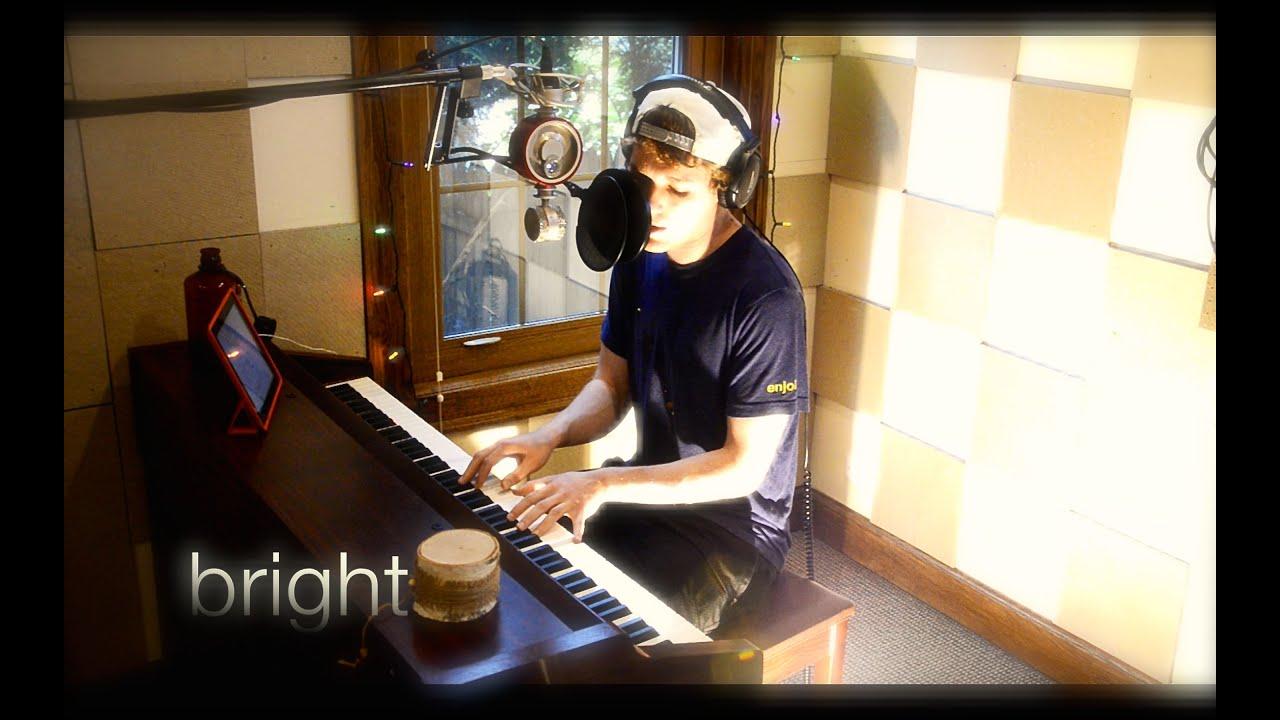 Echosmith Bright Piano Vocal Cover Youtube