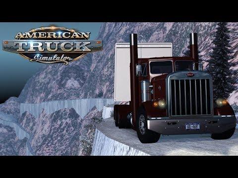 American Truck Simulator: Mountain Roads + Snow + Deadly cliffs = ?