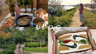 vlog#28  가을날 일상| 홈파티, 서촌, 나이키,…