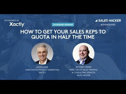 How to Get Your Sales Reps to Quota in Half the Time