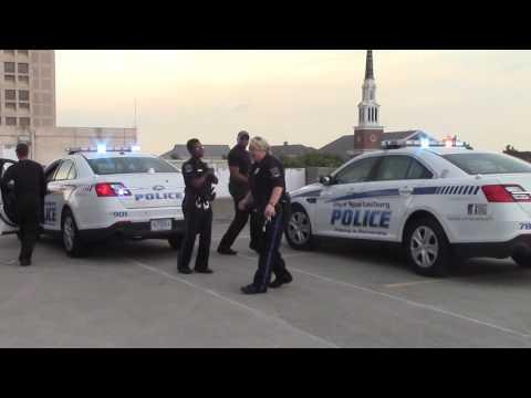Spartanburg Police Running Man Challenge
