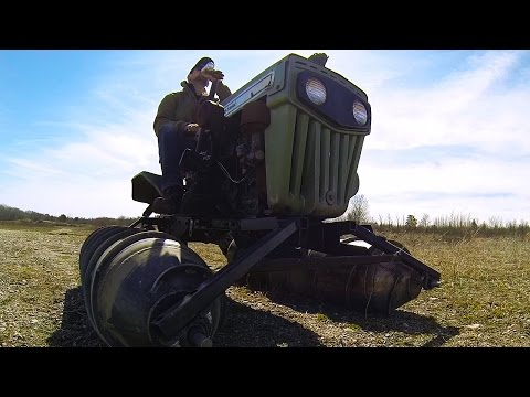 Screw Drive Vehicle - Extreme Off Road - Part 16 - TEST DRIVE!