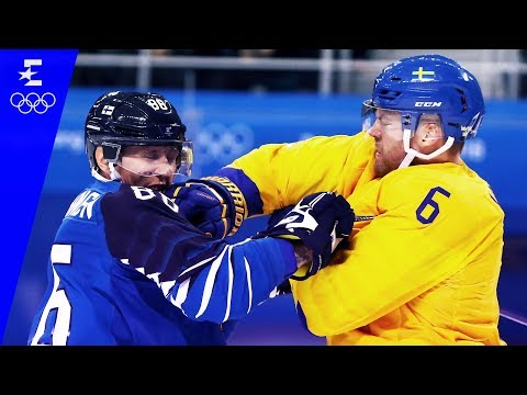 Ice Hockey | Sweden v Finland | Men's Highlights | Pyeongchang 2018 | Eurosport