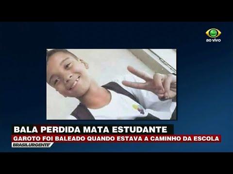 RJ: Jovem é morto por bala perdida a caminho da escola