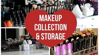 Makeup Collection & Storage 2015 | Makeup By Leyla