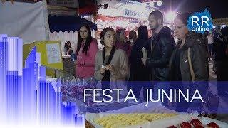 Quermesse é tradição no Rudge Ramos Video
