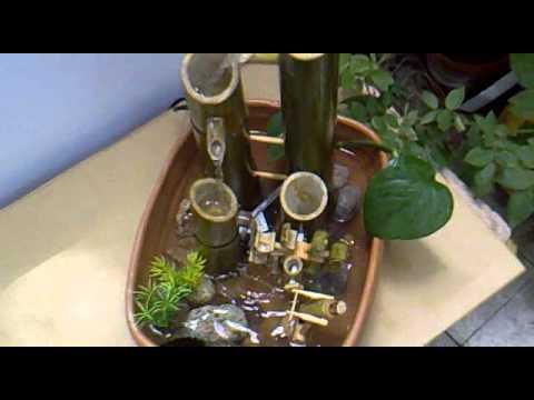 Fuente bamb youtube - Fuentes de agua de interior ...