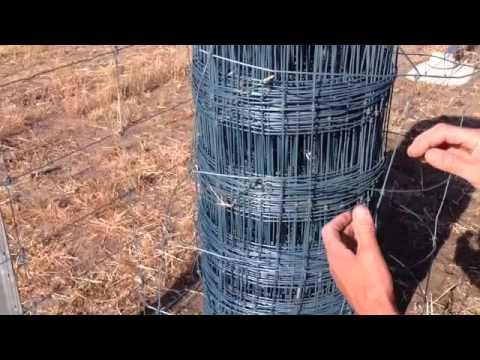 Slimline Rural Fencing - Part 3 - Wire