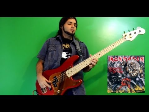 The Number Of The Beast (BASS - Iron Maiden cover)