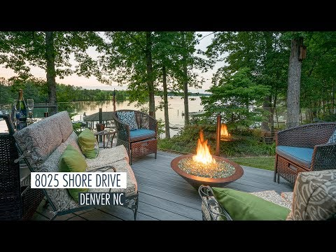 8025 Shore Drive Denver NC | Lake Norman Luxury Waterfront